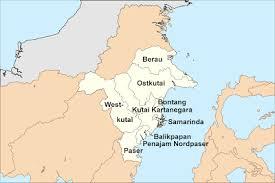 Hasil carian imej untuk Kutai Kertanegara dan Penajem Paser Utara di Kalimantan Timur