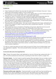 Legal Cv Guidelines Templates At Allbusinesstemplates Com