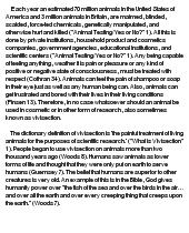 persuasive essay against animal cruelty  animal cruelty essays and papers