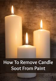 soot from candles removing candle soot from the wall home ec 101