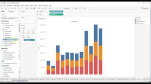 Tableau Bar Chart Different Colors Tableau Tutorial 105 How To Show Multiple Color Categories In Tableau Bar Chart