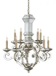currey company domani wrought iron mirror chandelier by currey company