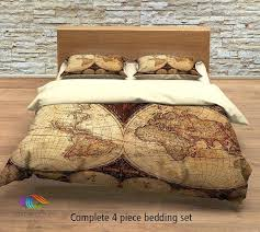 map comforter world