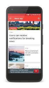 Newspaper Template App Newspaper App Template Zlatan Fontanacountryinn Com