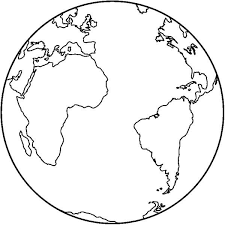 You can download these easily printable earth day coloring pages by simply clicking on the image and then clicking on 'save as'. Earth Map Coloring Pages Free Printable Coloring Pages For World Map Coloring Page World Map Printable Earth Coloring Pages