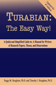 Turabian The Easy Way For Turabian 8th Edition Ebook By Peggy M Houghton Rakuten Kobo