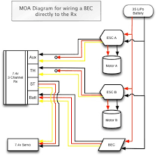 need a moa dual esc and bec wiring diagram rccrawler click the image to open in full size