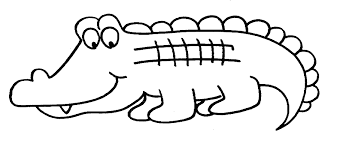 Small Picture alligator coloring pages 384jpg click the cute american alligator