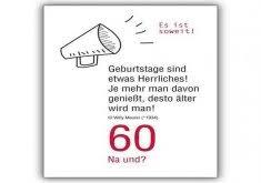 Witzige Geburtstagsgruse Zum 60 25 Witzige Sprüche Zum 60