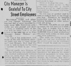 Ed Clement thanked for helping in snow storm Escanaba Daily Press  12/31/1946 - Newspapers.com