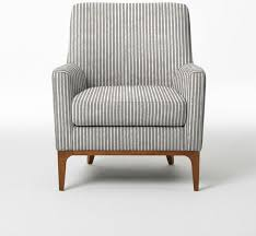 Small Upholstered Armchair charming small upholstered armchair #2: sloan upholstered  chair painted stripe products