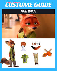 nick wilde zootopia costume diy guide for cosplay