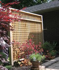 Article Image. recycled cedar lattice