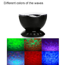 Ocean Wave Projector Night Light Amazon Com Gbell Soothing Ocean Wave Projector Led Night