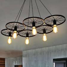 wagon wheel lamp wagon wheel chandelier cabin and lodge decor rustic lights fixture ceiling lamp wagon wheel lamp