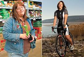 weight loss before and after elizabeth stared bike riding to lose 100 pounds