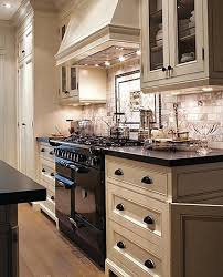 54 best black appliances images on kitchens dark wood white kitchen cabinets with black appliances