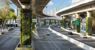 via verde mexico city s vertical gardens providing a pollution solution along the highways life soul