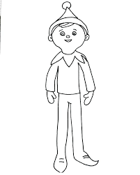 Elf Colouring Pages Free Elves Coloring Pages Printable Brownie Elf