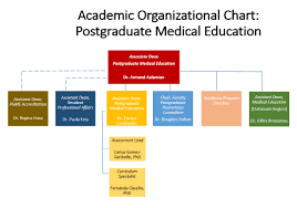 Organizational Chart Postgraduate Medical Education