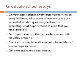 applying to graduate school and mba programs ppt video online  graduate school essays