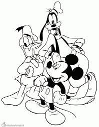 Kleurplaat Mickey Mouse Clubhuis Dke66 Agneswamu