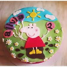 Peppa Pig Cake Pics Colorfulbirthdaycakegq