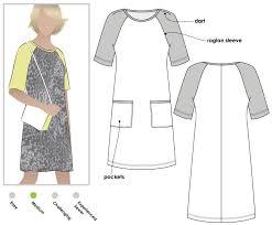 Raglan Sleeve Pattern Adorable Mary Shift Dress Style Arc