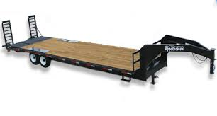 appalachian trailers utility dump gooseneck equipment car contractor grade flatbed gooseneck trailers