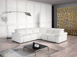white italian furniture. estro salotti hyding modern white italian leather sectional sofa furniture