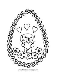 Kleurplaten Schattige Honden Puppies Voor Volwassenen Honden