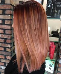 Coiffure Femme Balayage 20 Gorgeous Examples Of Rose Gold