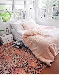 Bed on floor ideas with fair nuances 7