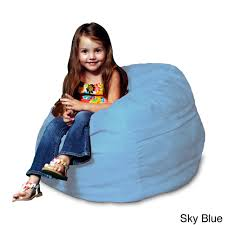 Memory Foam Micro Suede Kids Beanbag Chair for - Free Shipping Today -  Overstock.com - 15780874