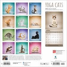 Yoga Cats Calendar 2020