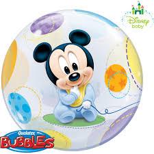 Ballonpost Mickey Mouse Baby (Bubble)