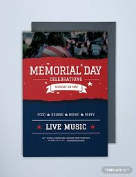Free 10 Memorial Day Invitation Examples Templates