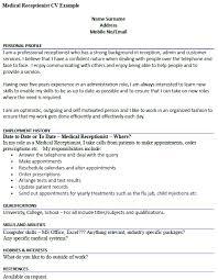 healthcare medical resume   medical receptionist cv example    healthcare medical resume medical receptionist cv example medical receptionist resume examples medical receptionist resume free