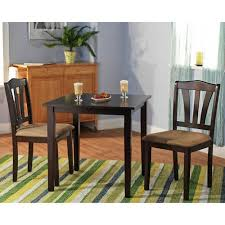 three piece dining set:  ebfefa a  abe aa cfdcecdbaf