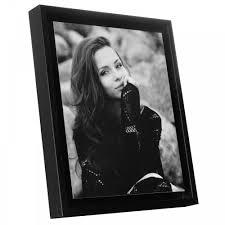 boxed panel black edged photo frame 10 x 12