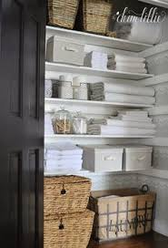 bathroom closet organization. Organized Linen Closet - One Day! Bathroom Organization