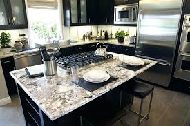 granite top kitchen islands white granite kitchen island with built in stove top white kitchen island