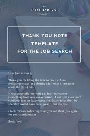 best images about career advice resume tips how to write a thank you note after a job interview the prepary