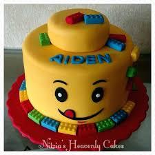 Yellow Head Cake My Cakes Cake And Birthdays Easy Boy Birthday Cake