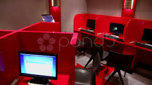 Computer Cyber Cafe Interior Design Hd