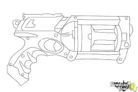 Small Picture Fancy Nerf Gun Coloring Pages 66 In Coloring Print with Nerf Gun