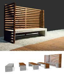 contemporary public space furniture design bd love. Public Bench / Contemporary Wooden Concrete - OUT03 By PRR Architetti Space Furniture Design Bd Love 1