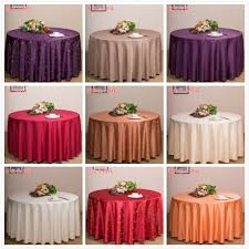 fl hotel meeting wedding dinning cafe table cloth cover oukr round 260cm gif