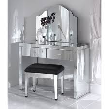 Romano Mirrored Dressing Table Set  French Furniture From  Regarding  Romano Mirrored Console Table (