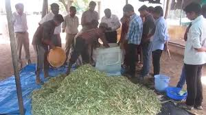 Demonstration Of Silage Preparation In Bags Youtube